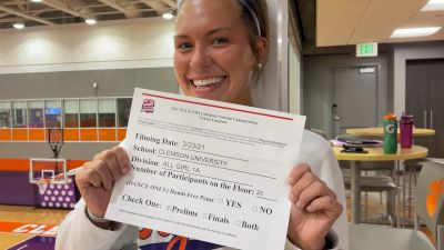 Clemson University [Virtual Advanced All-Girl Division I Prelims] 2021 NCA & NDA Collegiate Cheer & Dance Championship