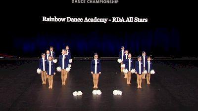 Rainbow Dance Academy - RDA All Stars [2021 Youth Pom - Small Semis] 2021 The Dance Summit