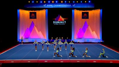 Bluegrass Cheercats - Royal Sabers [2021 L5 Senior Coed - Small Semis] 2021 The D2 Summit