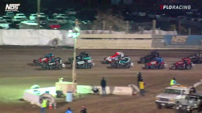 Highlights | USAC Midgets Saturday at Merced
