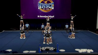 St Barnabas School [2021 Junior High Non Tumbling Semis] 2021 UCA National High School Cheerleading Championship