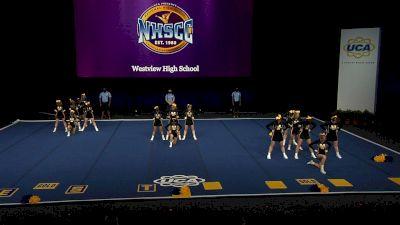 Westview High School [2021 Medium Non Tumbling Semis] 2021 UCA National High School Cheerleading Championship
