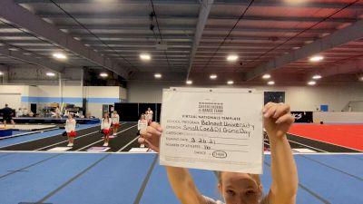 Belmont University [Virtual Small Coed Game Day - Cheer Finals] 2021 UCA & UDA College Cheerleading & Dance Team National Championship