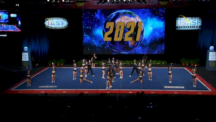 Prodigy All-Stars - Blacklight [2021 L6 International Open Small Coed Finals] 2021 The Cheerleading Worlds