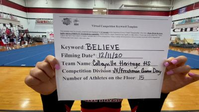 Colleyville Heritage High School [Game Day JV/Freshman] 2020 NCA December Virtual Championship