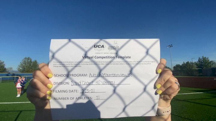 Auburn Mountainview High School [Varsity - Band Chant] 2021 UCA & UDA Game Day Kick-Off