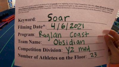 Raglan Coast Cheer - Obsidian [L2 Youth - Medium] 2021 The Regional Summit Virtual Championships