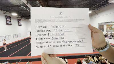 Elite Cheer - SHIMMER [L2 Youth - Medium] 2021 The Regional Summit Virtual Championships