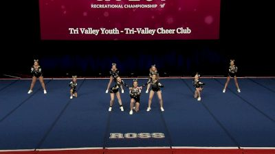 Tri Valley Youth - Tri-Valley Cheer Club [2021 L2 Performance Rec - 14Y (NON) - Small Finals] 2021 The Quest