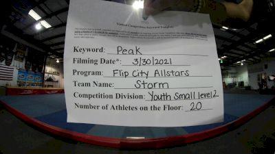 Flip City All Stars - Storm [L2 Youth - Small] 2021 The Regional Summit Virtual Championships