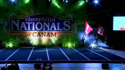 Belmont Abbey College [2021 Intermediate All-Girl Division II Day 1] 2021 Cheer Ltd Nationals at CANAM