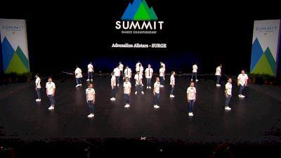 Adrenaline Allstars - SURGE [2021 Junior Coed Hip Hop - Large Semis] 2021 The Dance Summit