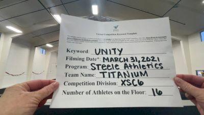Steele Athletics - Titanium [L6 Senior Coed - Xsmall] 2021 Mid Atlantic Virtual Championship