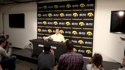 Tom Brands- Iowa Won A Fist Fight Tonight