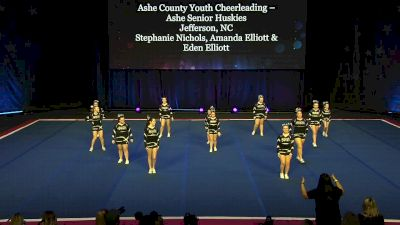 Ashe County Youth Cheerleading - Ashe Senior Huskies [2020 L3.1 Performance Rec - Affiliated (18Y)] 2020 The Quest