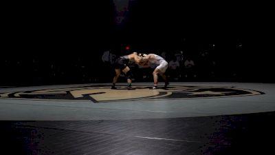 157 lbs - Josh Humphreys (Lehigh) vs Lucas Weiland (Army)