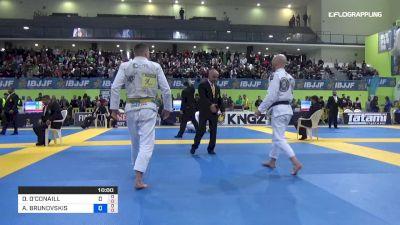 Darragh O'Conaill vs Andris Brunovskis 2019 European IBJJF Championship