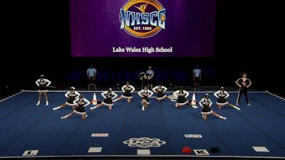Lake Wales High School [2021 Small Coed Non Tumbling Semis] 2021 UCA National High School Cheerleading Championship