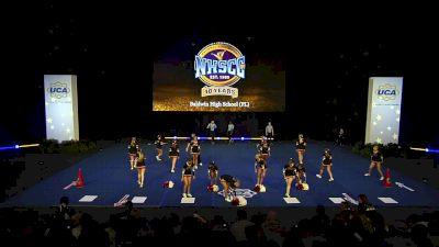 Baldwin High School (FL) [2020 Large Varsity Coed Non Tumbling Semis] 2020 UCA National High School Cheerleading Championship