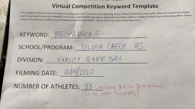 Silver Creek High School [Game Day Varsity] 2020 UCA Virtual Regional