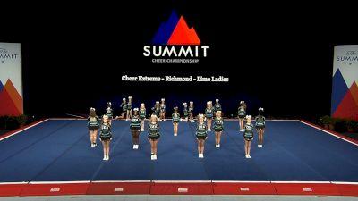 Cheer Extreme - Richmond - Lime Ladies [2021 L1 U17 Prelims] 2021 The Summit