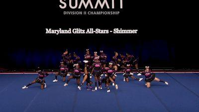 Maryland Glitz All-Stars - Shimmer [2021 L1 Junior - Small Semis] 2021 The D2 Summit