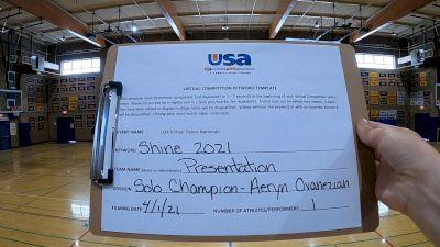 Presentation High School [Open - Solo Prelims] USA Spirit & Dance Virtual National Championships