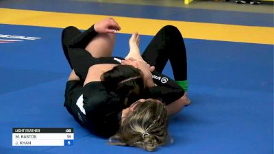 Mayssa Bastos vs Jessa Khan 2021 Pan IBJJF Jiu-Jitsu No-Gi Championship Flozone