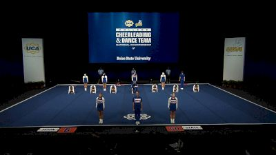 Boise State University [2021 Small Coed Division IA Finals] 2021 UCA & UDA College Cheerleading & Dance Team National Championship