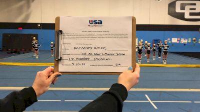 OC All Stars - Junior Yellow - Foothill Ranch [L2 Junior - Medium] 2021 USA All Star Virtual Championships
