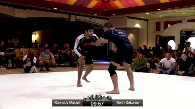 Kennedy Maciel vs Keith Krikorian Emerald City Invitational Event #2