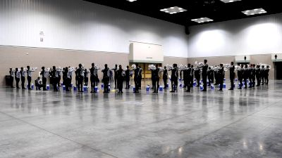 In The Lot: 2021 Blue Knights Brass Warm-Up