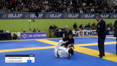 Thamara Ferreira's Kneebar Is Vicious