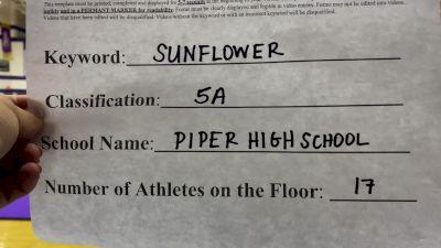 Piper High School [5A Game Day] 2020 KSHSAA Game Day Spirit Virtual Showcase