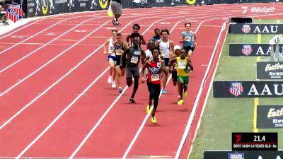 Jonathan Simms Runs 1:57 To Win 800m Title
