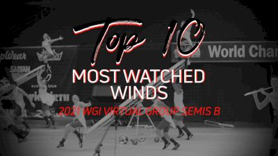 TOP 10: Most Watched Winds WGI Virtual Group Semis B