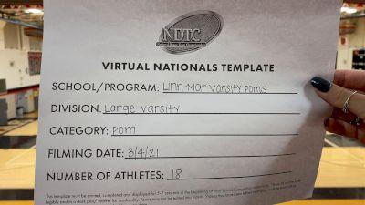 Linn-Mar High School [Virtual Large Varsity - Pom Finals] 2021 UDA National Dance Team Championship