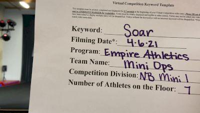 Empire Athletics - Mini Ops! [L1 - Mini - Non-Building] 2021 The Regional Summit Virtual Championships