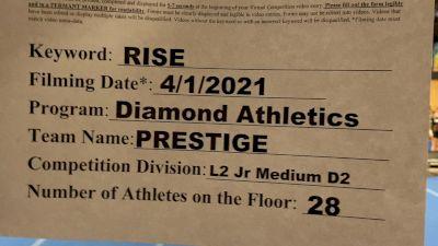 Diamond Athletics - Prestige [L2 Junior - Medium] 2021 The Regional Summit Virtual Championships