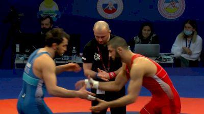 97 kg Gold Medal Match Aslanbek Sotiev vs Alikhan Zhabrailov