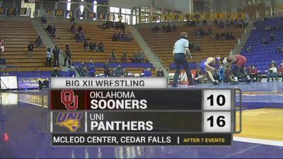 184 lbs - Parker Keckeisen, UNI vs Darrien Roberts, Oklahoma