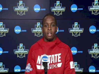 Tariq Wilson motivated to earn his place among Wolfpack NCAA champions
