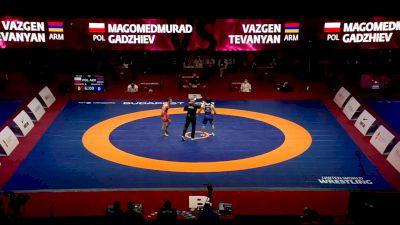 65kg - Semi-Final - Vazgen Tevanyan, ARM vs Magomedmurad Gadzhiev, POL