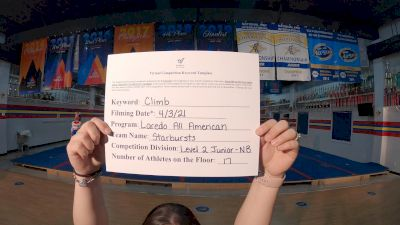 Laredo All American - Starbursts [L2 Junior - Non-Building] 2021 The Regional Summit Virtual Championships