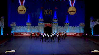 Academy of the Holy Angels [2021 Junior Varsity - Pom Semis] 2021 UDA National Dance Team Championship