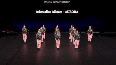 Adrenaline Allstars - AURORA [2021 Junior Hip Hop - Small Semis] 2021 The Dance Summit