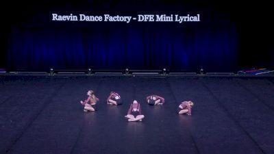 Raevin Dance Factory - DFE Mini Lyrical [2021 Mini Contemporary / Lyrical Semis] 2021 The Dance Summit