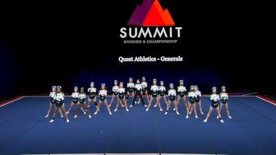 Quest Athletics - Generals [2021 L3 Junior - Small Finals] 2021 The D2 Summit