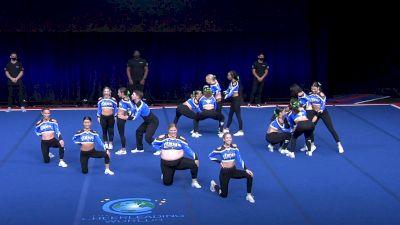 The Stingray Allstars - Atlas [2021 L6 International Open Coed Non Tumbling Semis] 2021 The Cheerleading Worlds