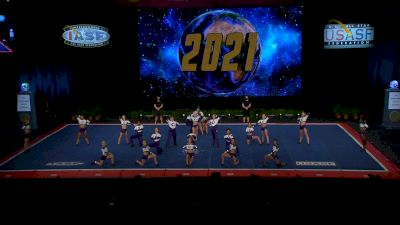 Charlotte Allstar Cheerleading - Teal [2021 L6 Senior Open Large Coed Finals] 2021 The Cheerleading Worlds